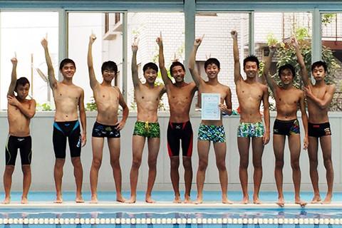 水泳部 メインイメージ