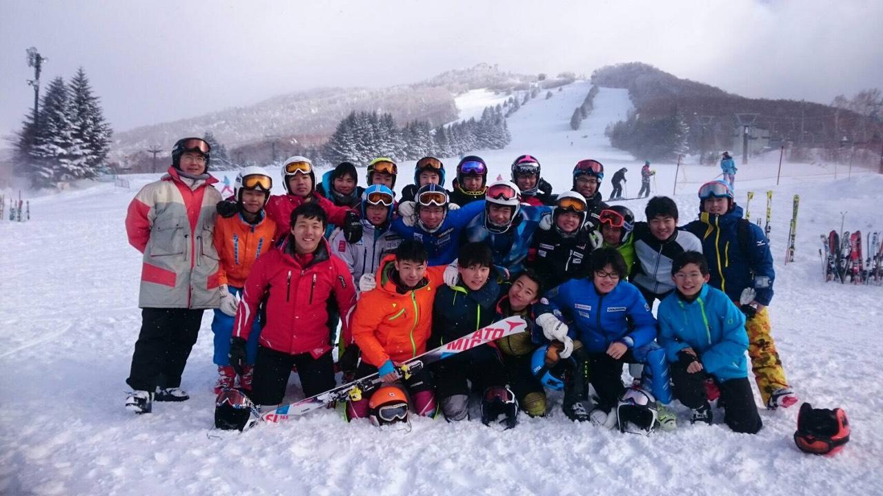 競技スキー部 メインイメージ