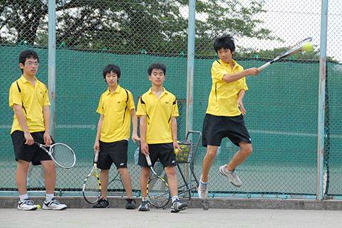 硬式テニス部 メインイメージ